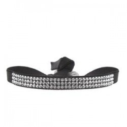 Bracelet 3 rangs Strass