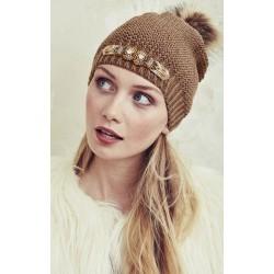 Bianca Camel bonnet et mitaines