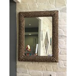 Miroir en Jacinthe d'eau