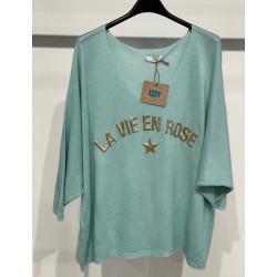 Tee shirt La Vie en Rose
