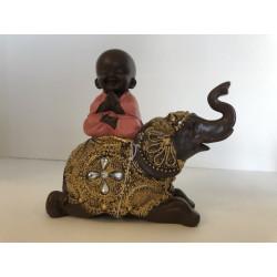 Bouddha sur Eléphant